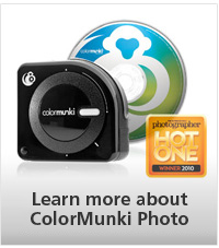 Learn more about ColorMunki Photo
