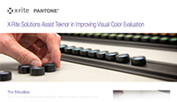 X-Rite Solutions Assist Teknor in Improving Visual Color Evaluation