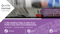 X-Rite IntelliTrax Helps Scottish Book Printer Carve Time Out of Makeready