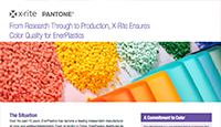 X-Rite Ensures Color Quality for EnerPlastics