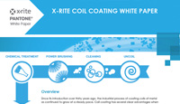 X-Rite Inline Solutions for Coil Coating