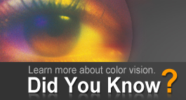 Learn mre about color vision.