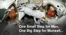 One Small Step for Man, One Big Step for Munsell...